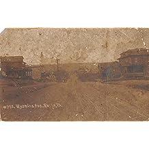 Enola Pennsylvania Wyoming Ave Real Photo Antique Postcard K80737