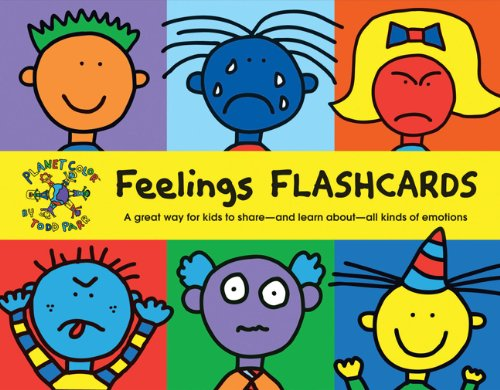 Feelings Flash Cards: A Great Way for Kids to Share and Learn About All Kinds of Emotions by Chronicle Books