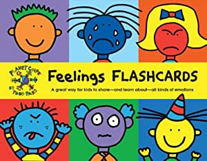 Feelings Flash Cards: A Great Way for Kids to Share and Learn About All Kinds of Emotions (Flash Cards for Infants, Speech Therapy Flash Cards, Emotion Flash Cards)