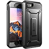 iPhone 8 Case, SUPCASE Full-body Rugged Holster Case with Built-in Screen Protector for Apple iPhone 7 2016/iPhone 8 (2017 Release), Unicorn Beetle PRO Series - Retail Package (Black/Black)