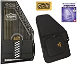 Oscar Schmidt OS73CE 1930's Reissue 21 Chord Autoharp with Pickup - Black W/Soft Case