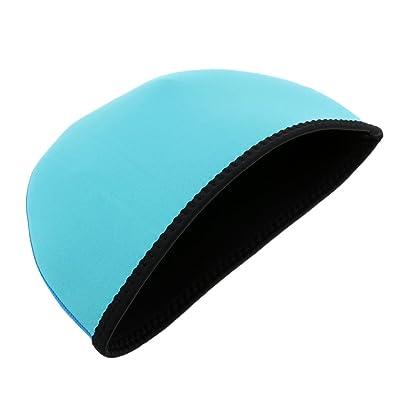 Sharplace Bonnet de Natation en Néoprène Bonnet de Bain Étanche Beanie Cyclisme Combinaison de Plongée
