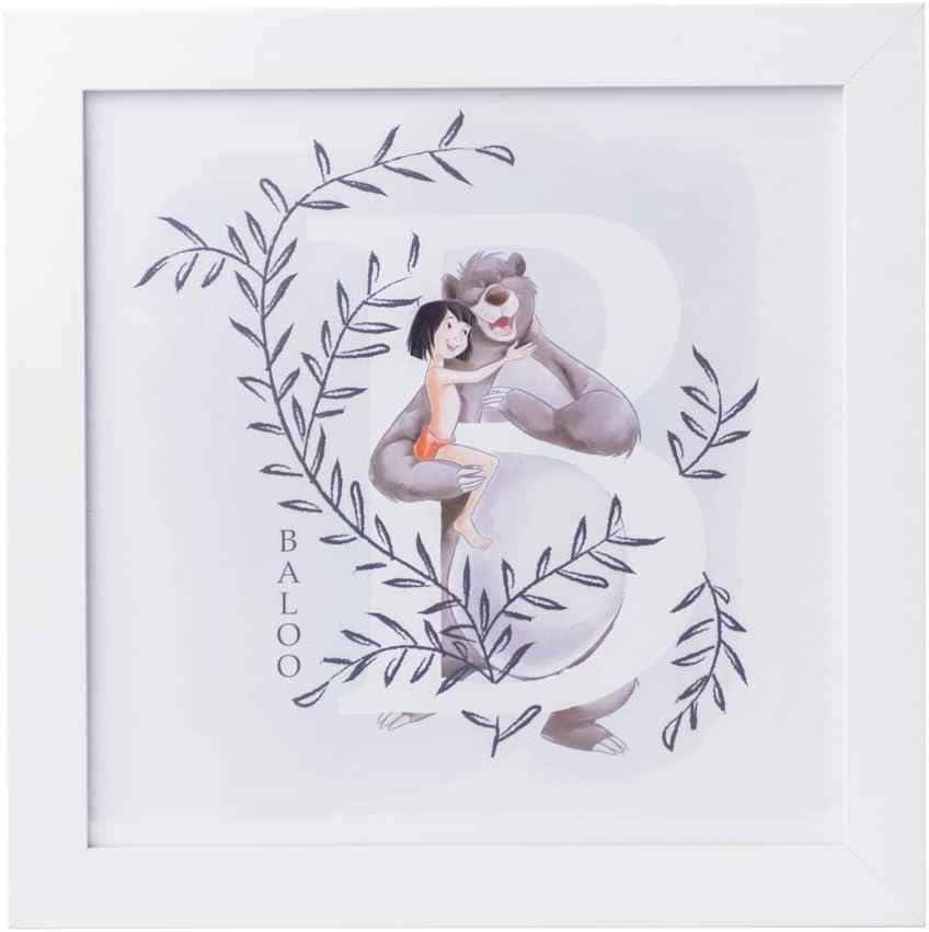Grupo Erik Cuadro Infantil Disney El Libro De La Selva, Multicolor, 30 x 30 cm