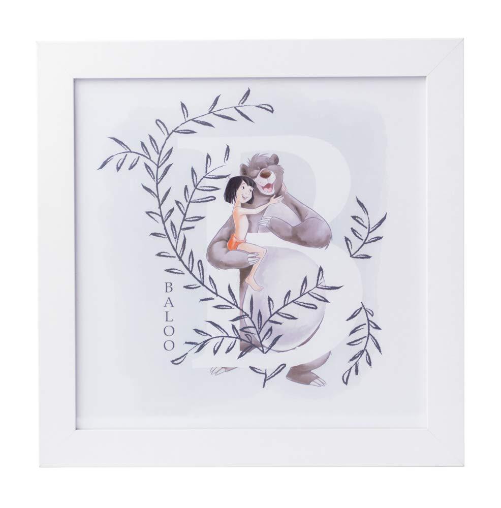 30 x 30 cm Grupo Erik Cuadro Infantil Disney El Libro De La Selva
