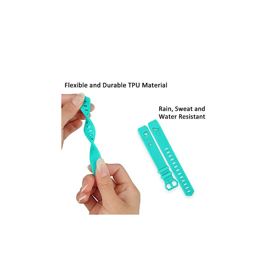 RedTaro Bands Compatible with Fitbit Alta HR/Alta Pack of 3(Purple,Teal,Hot Pink) Small,Adjustable Replacement Accessory Bands/Straps for Fitbit Alta HR/Alta for Women/Men(no Fitbit Fitness Tracker)
