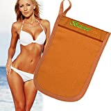 Baiden Tan Mitten - Pre-Tan Scrub Exfoliator for Face & Body, Use With Self-Tanning Lotion & Spray, Super Effective Fake-Tanner Remover, Enhances All Forms Of Tanning: Spray, Self & Sun & Bed (1pack)