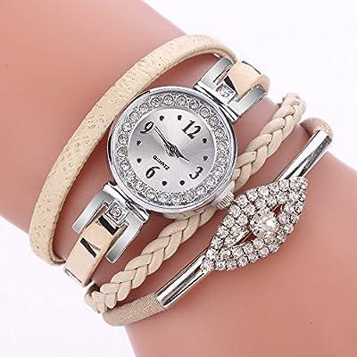 POTO Women Watches Clearance Sale,Fashion Jewelry Watches Bracelet Wristband Quartz Dress Wrist Watch Gift Watches for Ladies