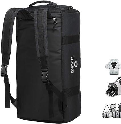 Gris OZUKO Suit Carry on Travel Garment Bag Sac de Sport Homme Grande Capacit/é avec Compartiment /à Chaussures 4-en-1 V/êtement Costume Sac de Voyage Duffel