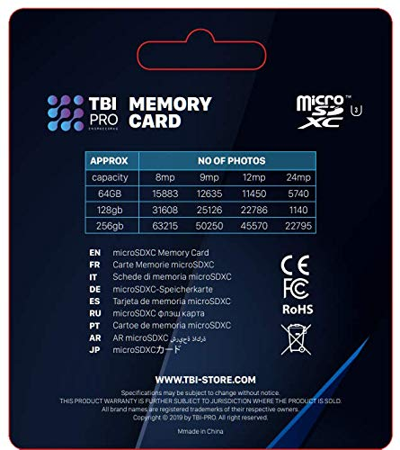 Amazon.com: TBI-PRO MicroSD Card 128Gb 10 Class: Computers ...