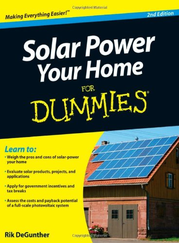 SOLAR POWER YOUR HOME FOR DUMMIES EPUB