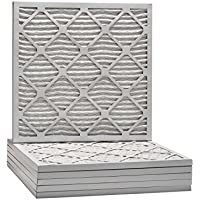 21-1/2x21-1/2x1 Dust & Pollen Merv 8 Pleated Replacement AC Furnace Air Filter (6 Pack)