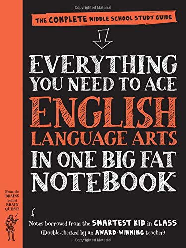 Everything You Need to Ace English Language Arts in One Big Fat Notebook: The Complete Middle School Study Guide (Big Fat Notebooks) (Best Way To Learn Algebra)