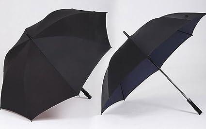 CYJZ® Paraguas doble paraguas Resistencia al viento paraguas grande Mujer paraguas doble Long Mango hombres