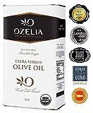 USDA Organic Global Award-Winner Extra Virgin Olive Oil by OZELIA 100% Pure, Single Origin, Cold Pressed, Unfiltered, Non-GMO EVOO- (33.8 oz /1000ml)