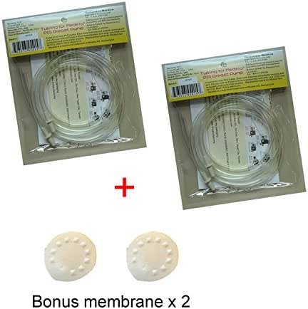 4 Replacement Tubing for Medela Pump in Style and New Pump in Style Advanced Breast Pump; Made by Maymom; Not Original Medela Tubing