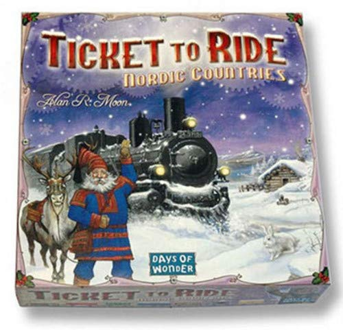 Ticket to Ride: Nordic Countries (Country In Asia And Their Capital City)