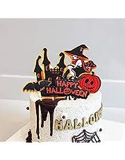 Halloween taarttoppers Wrappers, Halloween Cake Decor met Cupcake Cups voor Halloween Party Keuken Cupcake Bakken
