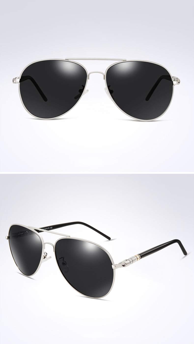 Gafas de Sol Gafas polarizadas Conductor Que Conduce el Espejo de Rana de los Hombres Tendencia de Moda,D: Amazon.es: Deportes y aire libre