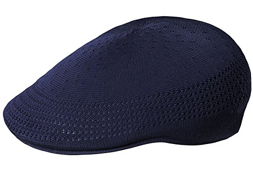 Kangol Men's Tropic 507 Ventair IVY Cap, Navy, XL