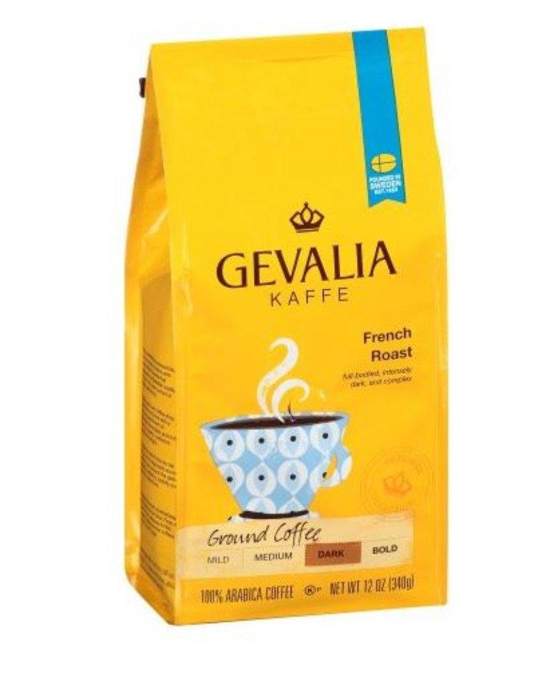 Gevalia French Roast Dark Ground Coffee, 20 Ounce