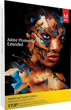 Adobe Photoshop Extended CS6 Student and Teacher Edition