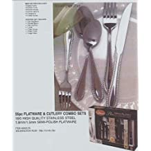 Gibson Wilmington Plus 55-Piece Flatware Set