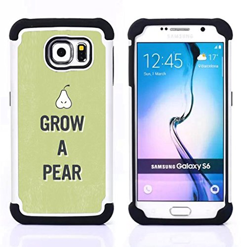 tiktaktok-rugged-armor-shell-case-cover-skin-for-samsung-galaxy-s6-sm-g920-pear-raw-food-fruit-healt