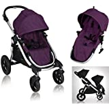 Baby Jogger City Select 2013 with FREE Second Seat Kit, Amethyst