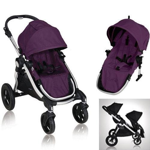 Baby-Jogger-81268KIT2-2011-City-Select-Stroller-with-Second-Seat-Amethyst