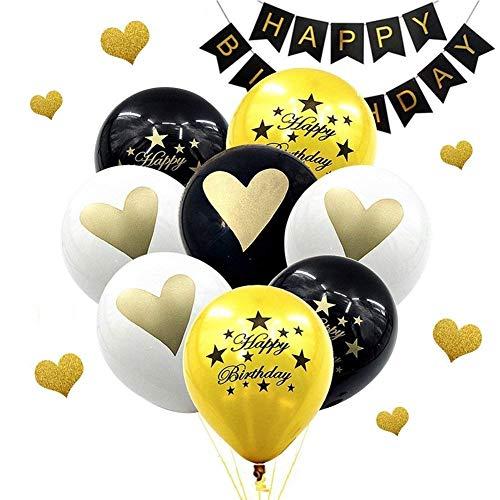 Koogel Birthday Party Balloons,100 Pcs 12
