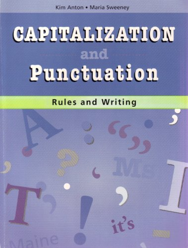 Capitalization Punctuation Rules - Capitalization And Punctuation Rules And Writing