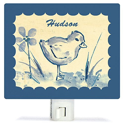 Toile Chickie by Heather Gentile-Collins - Personalized Night Lights, 5