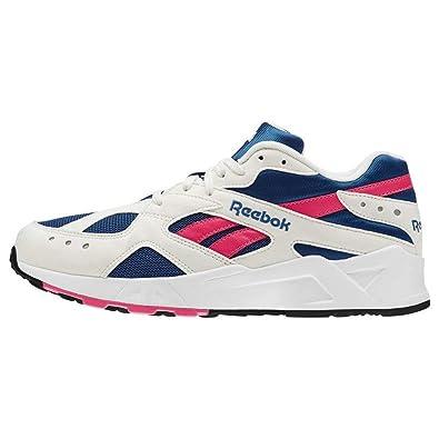 Zapatillas Reebok - Aztrek Blanco/Azul/Rosa Talla: 45,5: Amazon.es: Zapatos y complementos