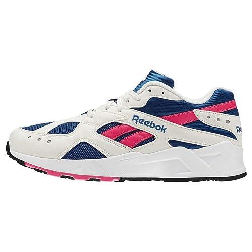 db9310394 Zapatillas Reebok - Aztrek Blanco/Azul/Rosa Talla: 45,5: Amazon.es: Zapatos  y complementos