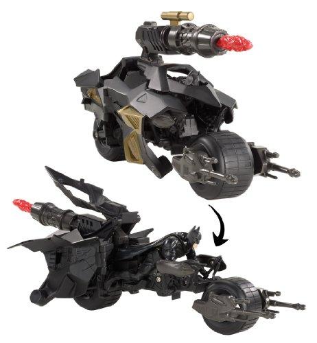 Dark Knight Bat (Batman the Dark Knight Rises Batpod Vehicle and Batman Action Figure)