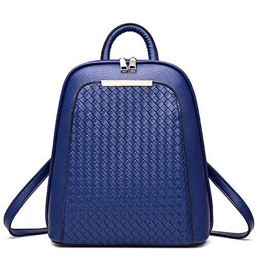 joyousac-backpack-pu-leather-fashion-women-daypack-multifuctional-bag-royalblue