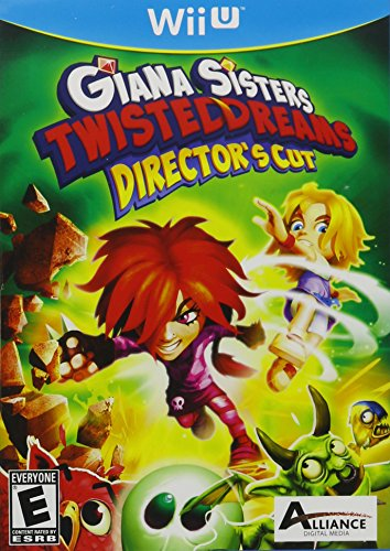 Giana Sisters Twisted Dream Directors Cut - Wii U (Twisted Sister Console)