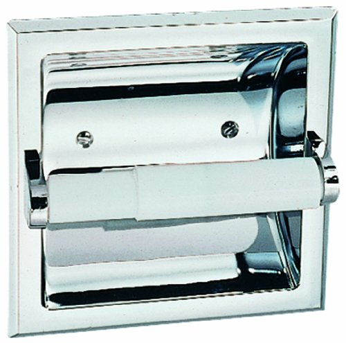 Mill Bridge Recessed Toilet Paper Holder - Finish: Polished