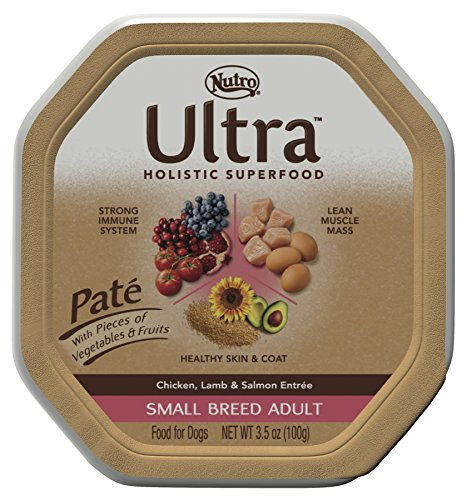 Nutro ULTRA Small Breed Adult Pate Dog Food, 3.5 oz. (Pack of 24) For Sale