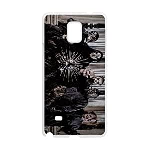 SamSung Galaxy Note4 phone cases White Slipknot cell phone cases Beautiful gifts TRIJ2783737