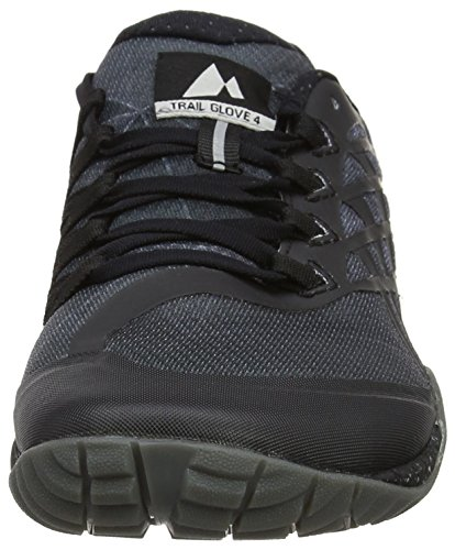 Merrell Glove 4, Scarpe da Trail Running Uomo Nero (Space Black)