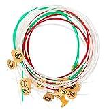 Strings for Lyre Harp, AKLOT 7Pcs Steel Strings Set