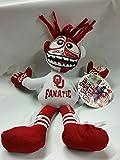 Oklahoma Sooners NCAA Face Paintin Fanatic Window Cling Plush Toy