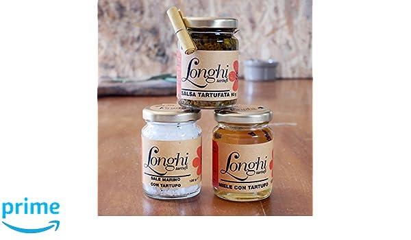 Set de regalo: Miel de trufa, Sal de trufa y Salsa de trufa: Amazon.es: Alimentación y bebidas