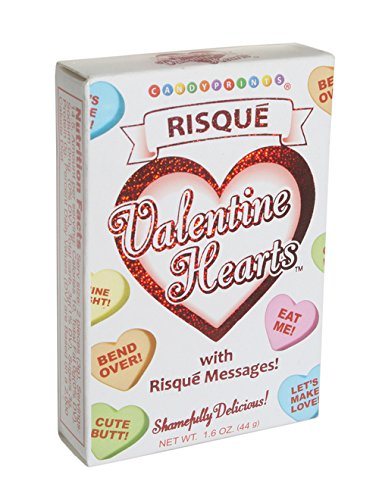 Adult Valentine Conversation Hearts Risque Candy 2 Pack ()