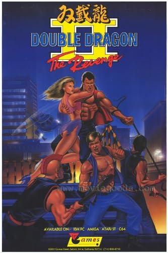 Amazon Com Double Dragon Ii The Revenge Movie Poster 27 X 40