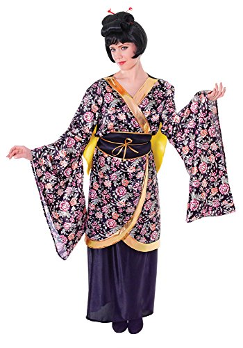 Black Geisha Girl Costume (Women's Geisha Girl Costume)