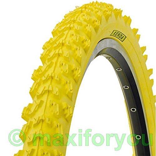 Kenda MTB neumáticos 26x 1, 95–pulgadas–amarillo 01022614