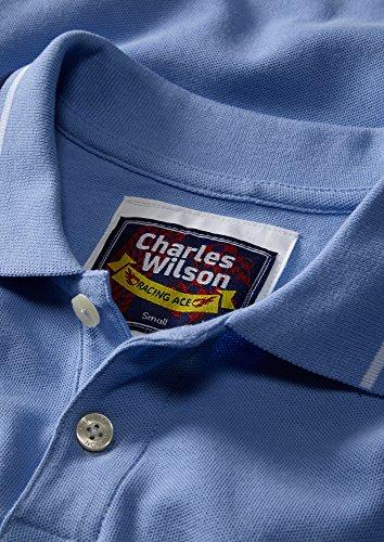 Polo Navy Avec Wilson Rappels Contrastés Blue Sky Charles amp; 8cwPxpBqB5