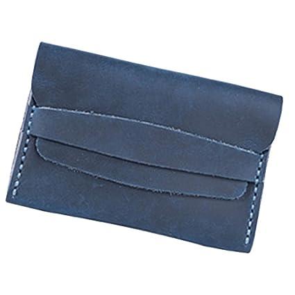 Sharplace DIY Cuero Monedero Material Kit de Costura Uso para Fabricar de Billeteras de Hombre -